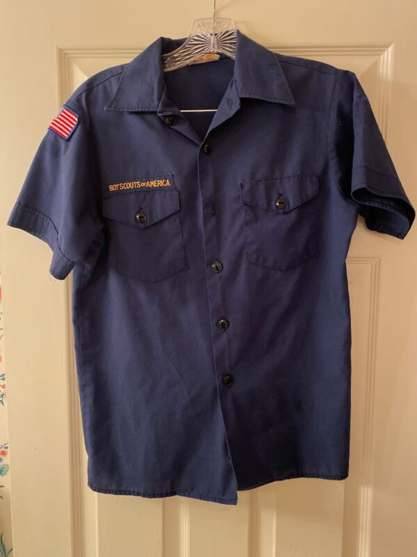 Cub Scout BSA UNIFORM SHIRT Youth Size 16 Large Short Sleeve #5