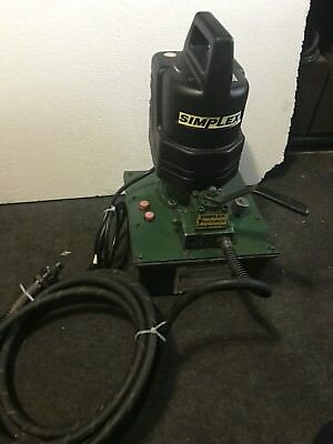Simplex Sue-o-matic Electric Hydraulic  10000 Psi