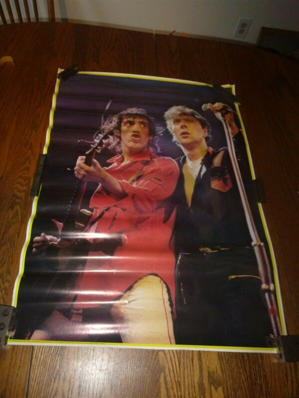 "The Clash ~ 1978 Original Poster ~ 32"" x 24"" ~ some minor edge damage see pics ~"