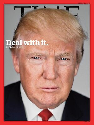 TIME Magazine August 31 2015 Donald Trump Deal With It