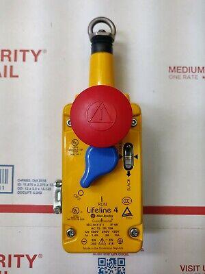 Allen Bradley Lifeline 4 Guard Master Iec-947-5-1 Safety Switch 500-v 6-a
