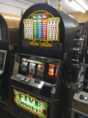 Bally 6000 Five Times Money 3 coin SLOT MACHINE