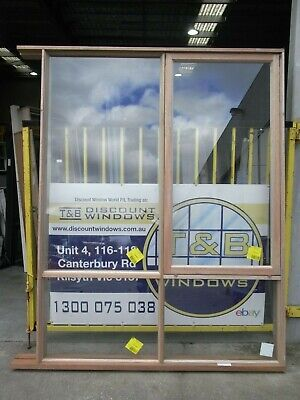 Timber Awning Window 2500H x 1880W (Item 4127/14) Meranti