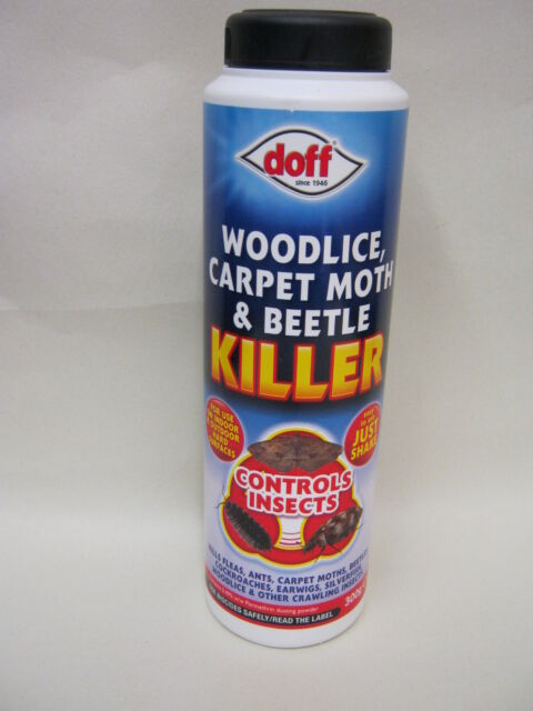 New Doff Woodlice Carpet Moth And Beetle Insect Killer Powder 300g