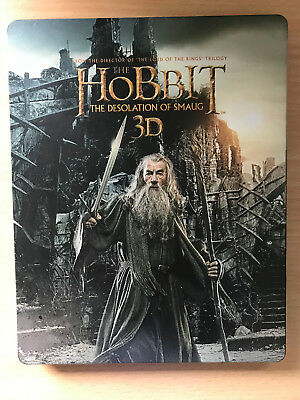 THE HOBBIT 2: DESOLATION OF SMAUG ~ 2013 Tolkein Epic UK Blu-ray