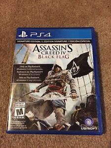 Multiple Assassin's creed games for PS4