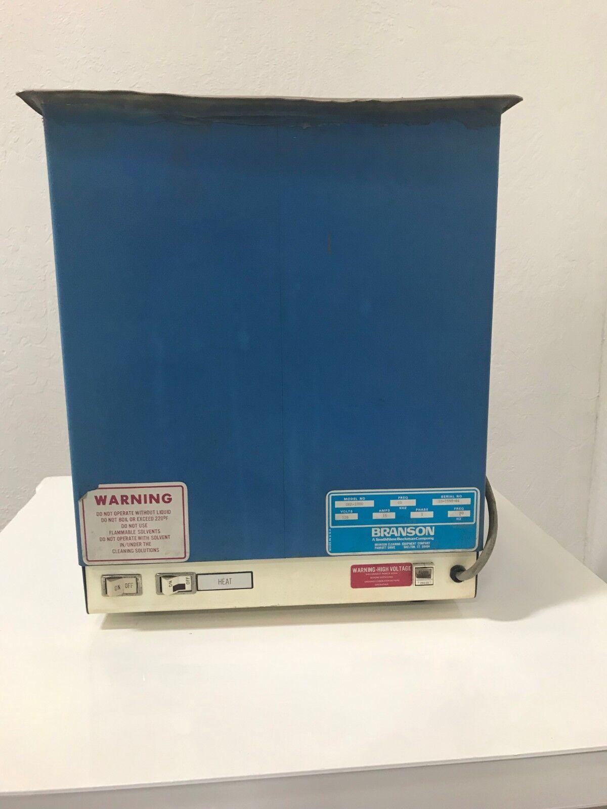 BRANSON DHA-1000 HEATED ULTRASONIC CLEANER 10 GALLON