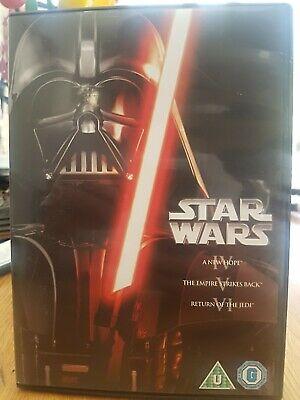 Star Wars Trilogy: Episodes IV, V and VI DVD / FREEPOST