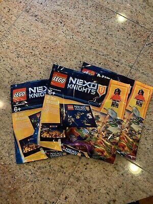 LEGO Nexo Knights Intro Pack Set 5004388 NEW Sealed Set Of 3