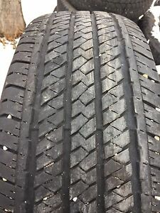P255/70R17 Bridgestone duel or H/T set of four tires.
