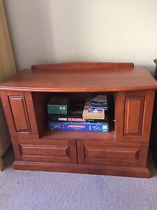 Wooden TV  cabinet Tapping Wanneroo Area Preview