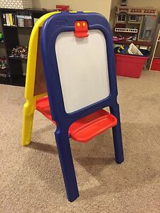 Crayola Kids Chalk and magnetic white board