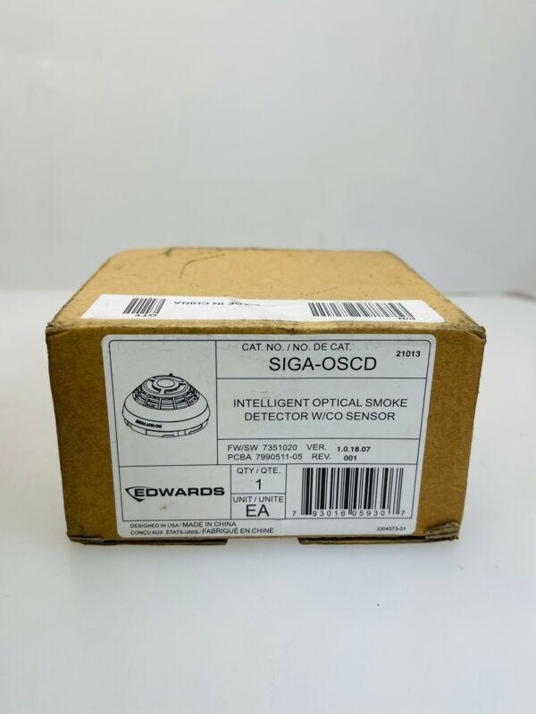Est Edwards SIGA-OSCD Intelligent Optical Smoke Detector w/CO Sensor
