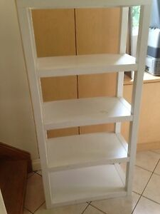 White Shelving Unit Deakin South Canberra Preview