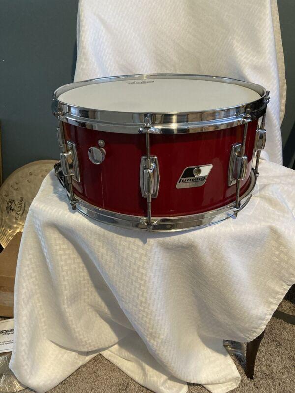 Vintage Ludwig Snare Drum 14 X 6.5