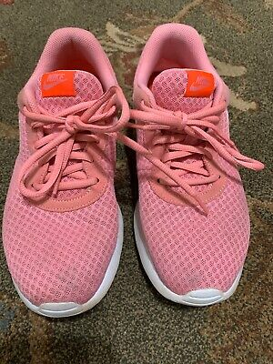 Nike Training Womens Running Athletic Shoes Size 9 Pink & White GUC