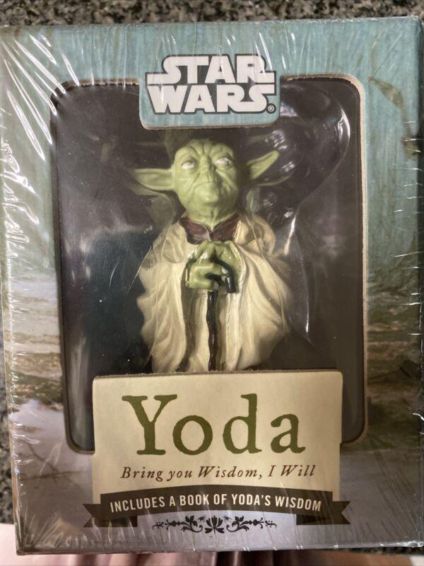 New! 2010 STAR WARS Yoda Bring You Wisdom, I Will • WITH A BOOK OF YODA