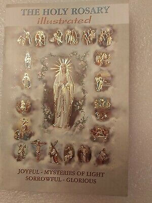 Holy Rosary Prayer Booklet 15cmx10cm (12 pages)