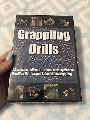NEW• GRAPPLING DRILLS STEPHAN KESTING DVD Training. Jiu Jitsu BJJ MMA 83 Drills