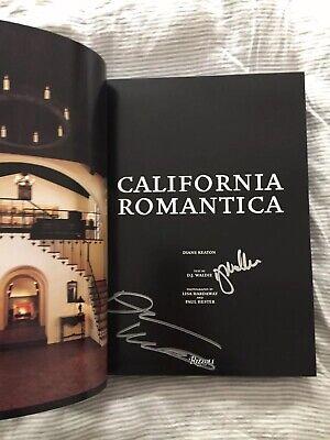 Diane Keaton SIGNED California Romantica Spanish Colonial Mission-Style (Mission Fashion 2007)