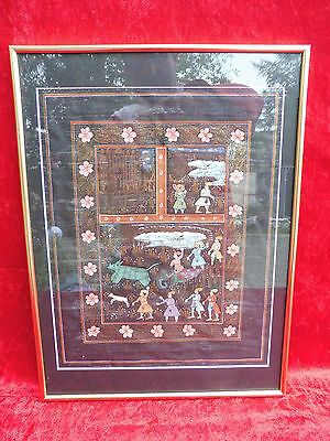 Pretty Image Oriental Miniature___Framed__