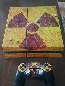 PS4-VINILO-UMBRELLA-Resident-Evil-para-consola-y-mandos-FOTO-REAL-ALTA-CALIDA