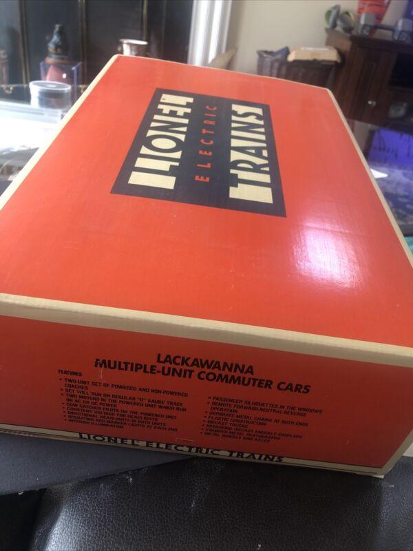 + Lionel 6-18304 Lackawanna Multiple-Unit Powered & Dummy Commuter Cars NIB New