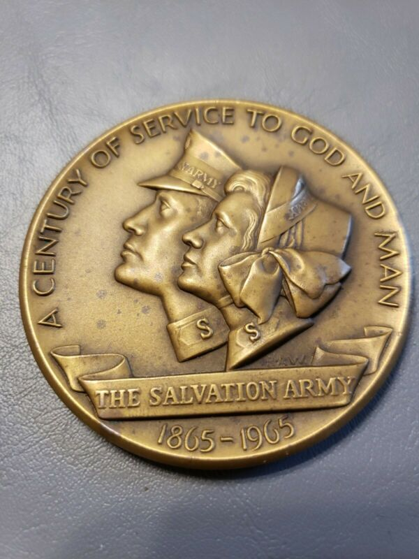 The Medallic Art Company, A Century Of Service To God And Man, Salvation Army...