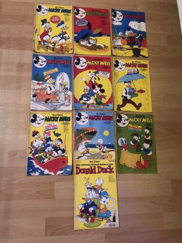 Micky Maus Comics Hefte 1974 -1978