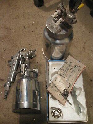 Binks Model 80 Tank Pressure Pot Spray Devilbiss Spray Gun Automotive - Paint