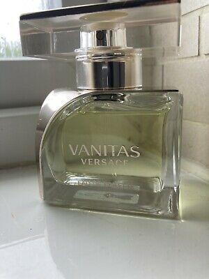 Versace Vanitas EDT 50ml Bottle Sprayed A Few Times