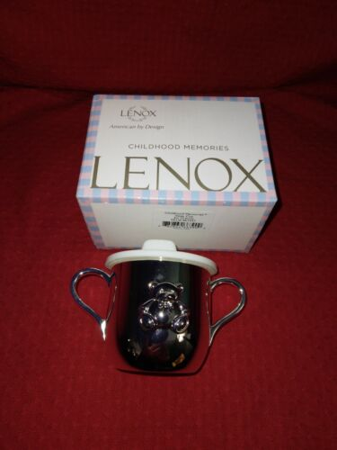 Lenox Childhood Memories Silver Plated Sippy Cup