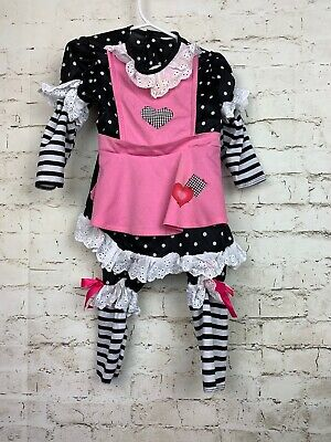 Raggedy Ann Costume Girl (Raggedy Ann Doll Toddler Girl Costume Size 18 months - 24)