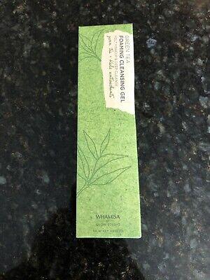 Whamisa Green Tea Foaming Cleansing Gel, 4.6 fl oz, New!