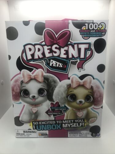 Present Pets Interactive Fancy Pup Princess OR Kweenie Dog Surprise 100 Sounds - $35.00