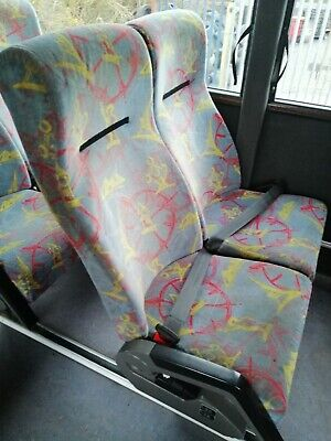 Bus coach seats with Inertia Lap Belts - OFFERS CONSIDERED!!
