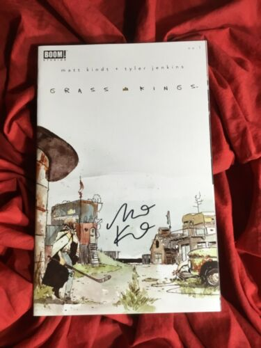GRASS KINGS #1~1st PRINT~HAND-SIGNED BY MATT KINDT~NEW TV SHOW COMING~BOOM!~B