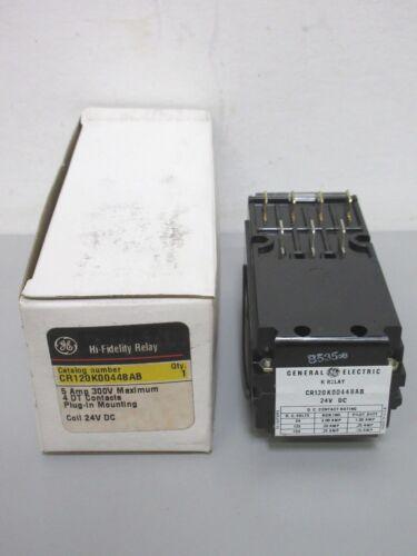 New GE CR120K00448AB Hi-Fidelity Relay