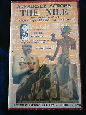 A JOURNEY ACROSS THE NILE VIDEO CASSETTE TAPE