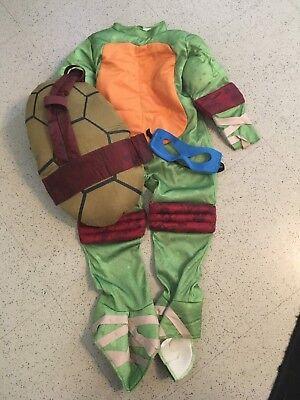 Boys Ninja Turtle Costume - 4t Ninja Turtle Costume