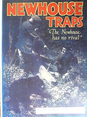 Newhouse Traps Advertising Poster Lititz, Pa.