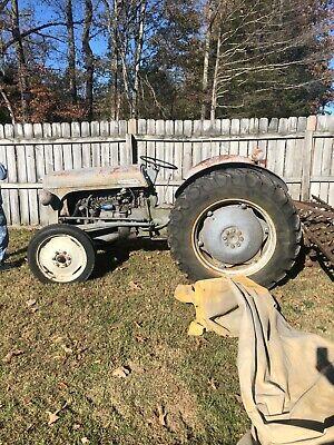 1950 Massey Ferguson To20 Tractor