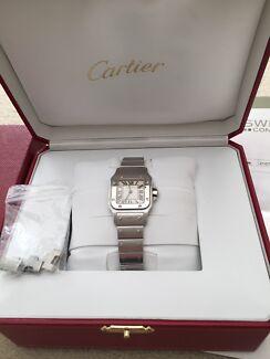 Cartier Santos Ladies Pyrmont Inner Sydney Preview