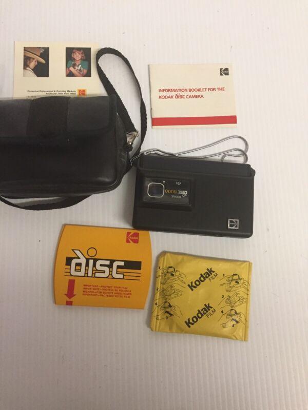 Kodak Disc 6000 & Case Vintage 80s