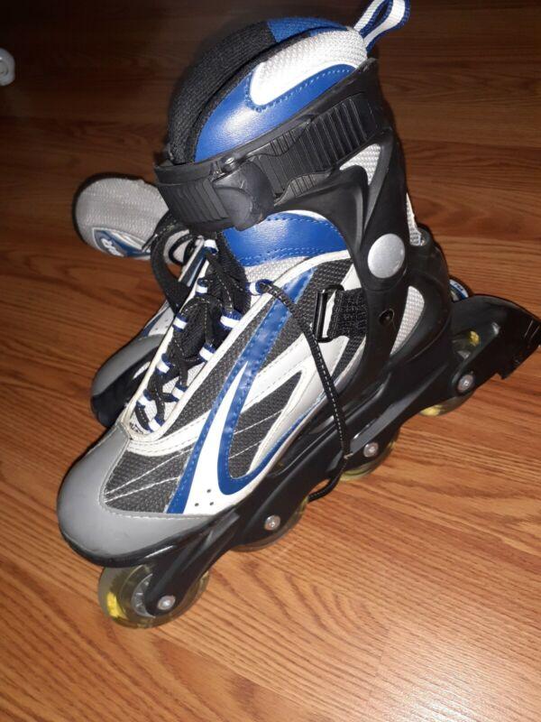 Bladerunner Youth rollerblades with 4 inline wheels-size 7