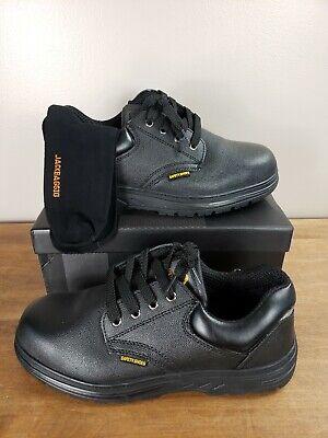 Jackbaggio Men's 13 Steel Toe Slip Resistant Uniform Work Shoes NEW  Slip-resistant Steel Toe Uniform