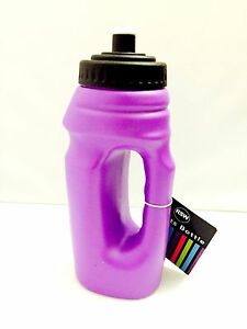 New Purple Gym Running Sports Bottle Hand Grip Water Bottle 700 ml.
