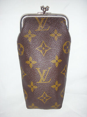 RARE LOUIS VUITTON TLV1100 MONOGRAM CANVAS FRAMED EYEGLASS CASE - FRENCH CO