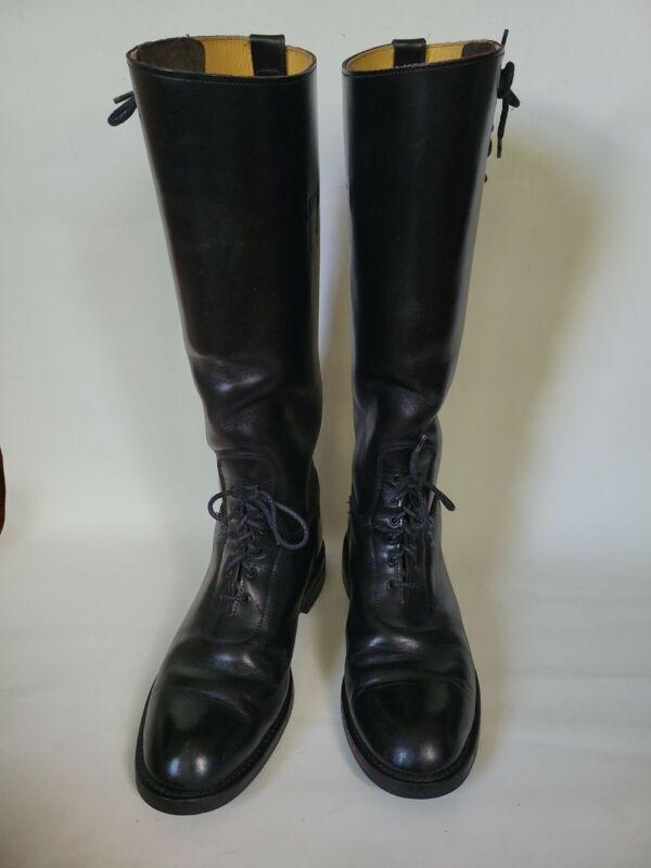 Service Riding Apparel Equestrian Black Boots Mens Size 8.5