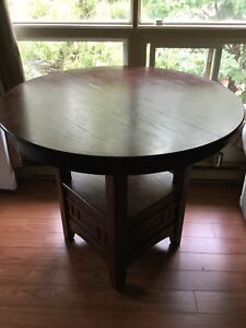 Table no chairs